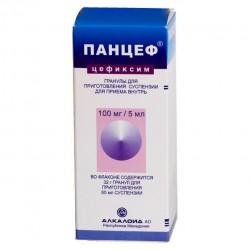 Панцеф, гран. д/р-ра д/приема внутрь 100 мг|5 мл 32 г №1