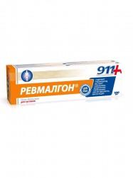 Гель-бальзам для тела, 911 Ваша служба спасения Ревмалгон при боли в суставах и мышцах 100 мл